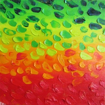 Autumn - oil painting by Rona Barugahare